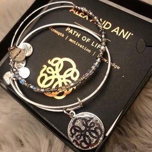 Silver Path of Life Alex and Ani Bracelets